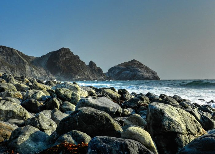 Big Sur California Greeting Card featuring the photograph California - Big Sur 012 by Lance Vaughn