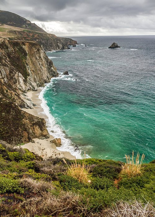 Big Sur Greeting Card featuring the photograph California Coast by Pierre Leclerc Photography