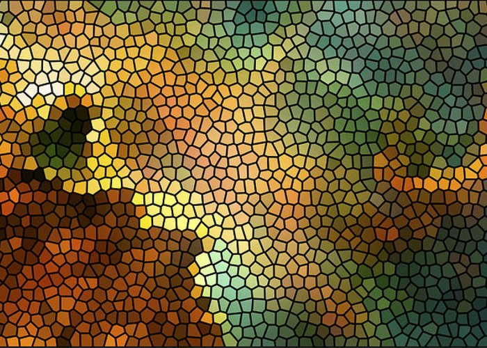 Nasa Images Greeting Card featuring the photograph Carina Nebula Mosaic by Jennifer Rondinelli Reilly - Fine Art Photography