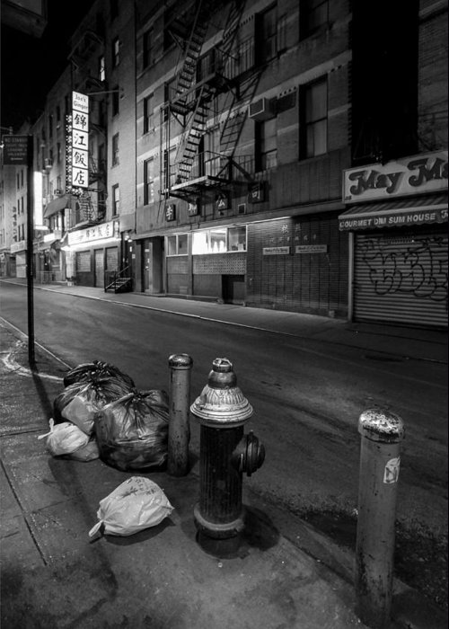 Chinatown Greeting Card featuring the photograph Chinatown New York City - Joe's Ginger On Pell Street by Gary Heller