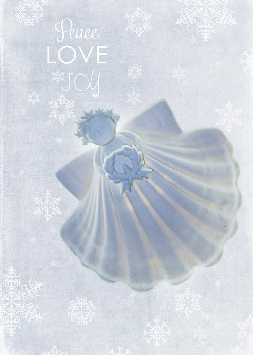 Angel Greeting Card featuring the photograph Christmas Angel by Rebecca Cozart
