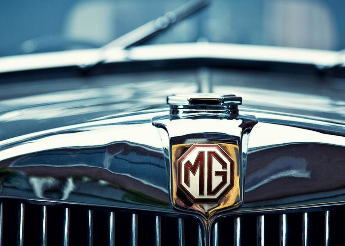 Mg Wa Greeting Card featuring the photograph Classic Marque by Dave Bowman