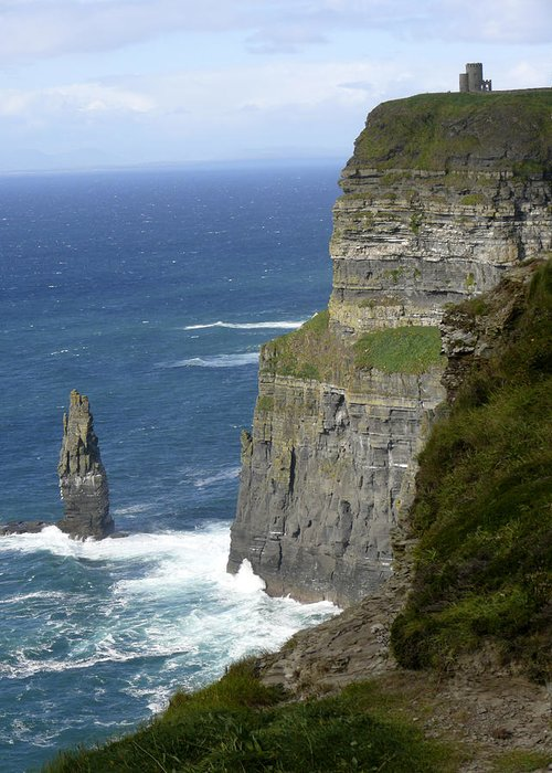 Travel Greeting Card featuring the photograph Cliffs Of Moher 7 by Mike McGlothlen