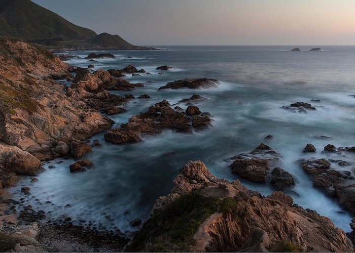 California Greeting Card featuring the photograph Coastal Tranquility by Mike Reid