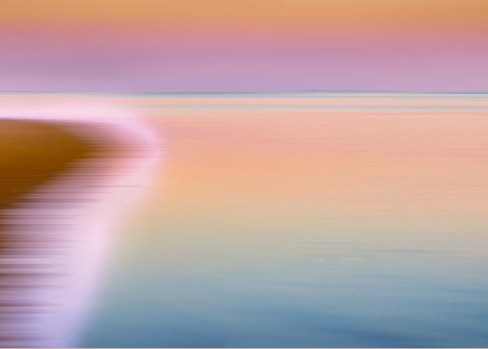 Abstract Greeting Card featuring the photograph Color Of Morning by Bill Wakeley