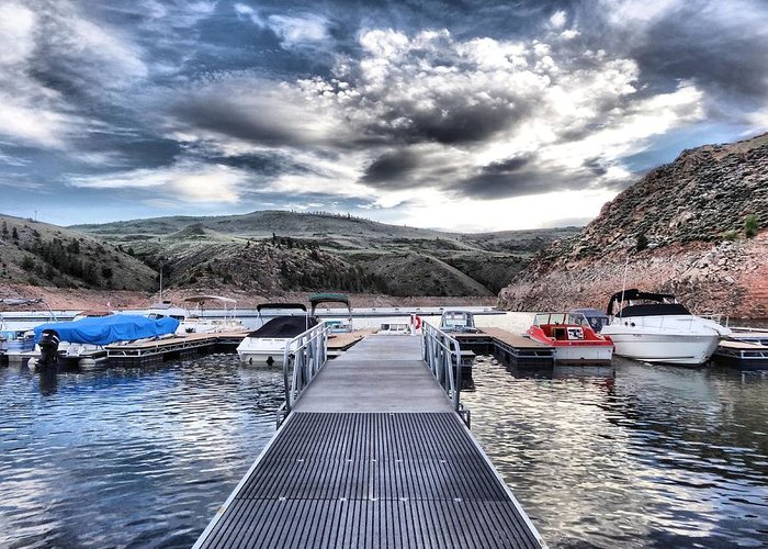 Colorado Greeting Card featuring the photograph Colorado Boating by Dan Sproul