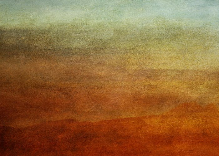Abstraction Greeting Card featuring the photograph Colours Of The Fall by Priska Wettstein