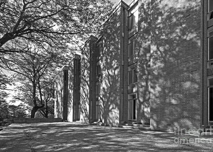 Cornell College Greeting Card featuring the photograph Cornell College Tarr Hall by University Icons