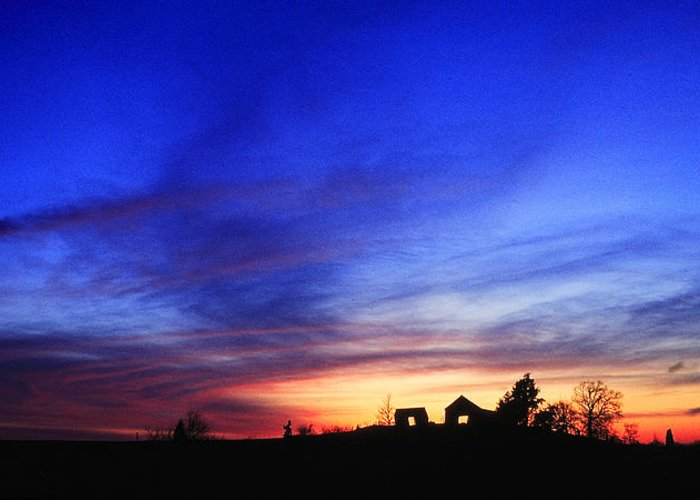 Kentucky Greeting Card featuring the photograph Country Sunset by Wendell Thompson