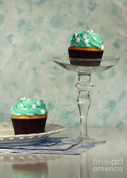 Cupcake Frenzy Greeting Card featuring the photograph Cupcake Frenzy by Inspired Nature Photography Fine Art Photography