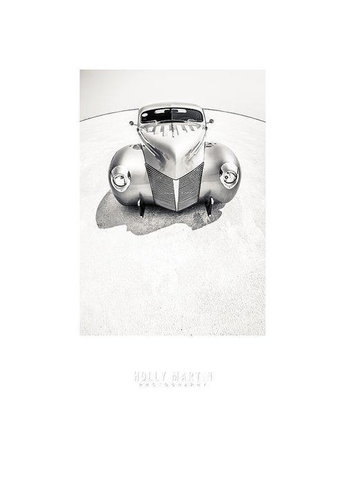 Antique Automobile Greeting Card featuring the photograph Custom Salt by Holly Martin