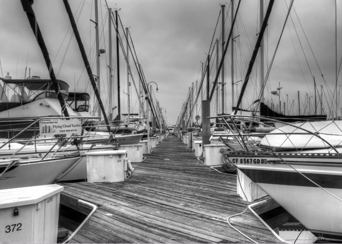 Alone Greeting Card featuring the photograph Dock Life by Heidi Smith