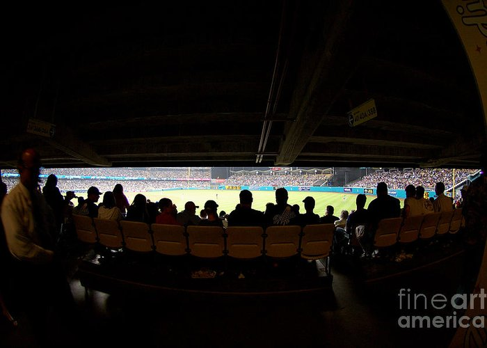 Dodgers Greeting Card featuring the photograph Dodger Stadium 2 by Micah May