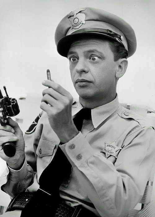 Don Knotts Greeting Card featuring the photograph Don Knotts by Mountain Dreams