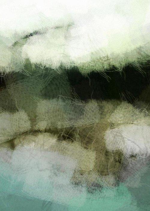 Landscape Greeting Card featuring the digital art Early Morning Flight by Gun Legler