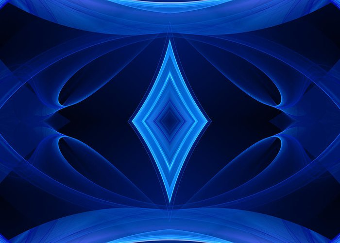 Hanza Turgul Greeting Card featuring the digital art Equilibrium by Hanza Turgul