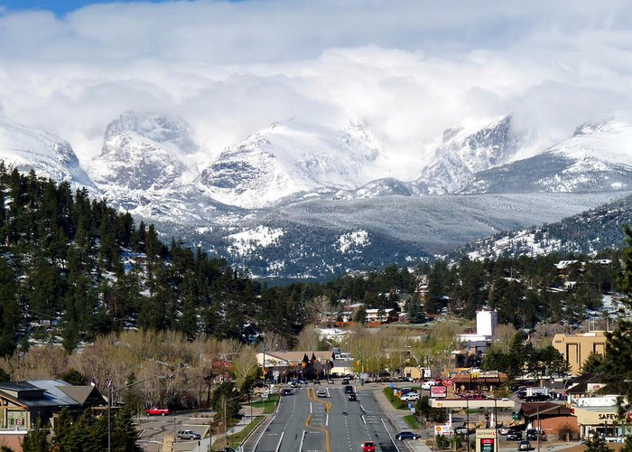 Tranquil Greeting Card featuring the photograph Estes Park In The Spring by Tranquil Light Photography