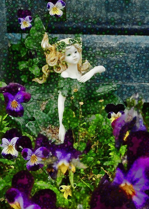 Fairy Greeting Card featuring the photograph Fairy Dust by Steve Taylor