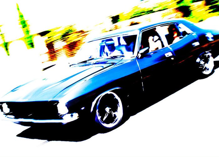 Ford Fairmont Greeting Card featuring the photograph Fast Ford Falcon by Phil 'motography' Clark