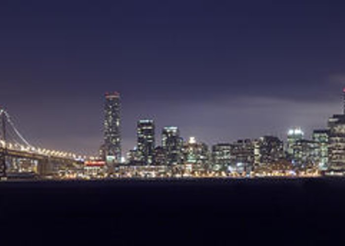Fog City Greeting Card featuring the photograph Fog City San Francisco by Mike Reid