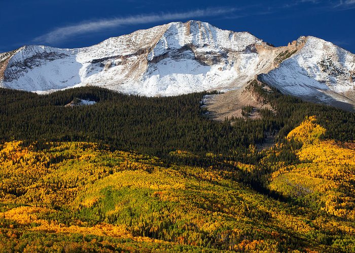 Colorado Landscapes Greeting Card featuring the photograph Foothills Of Gold by Darren White