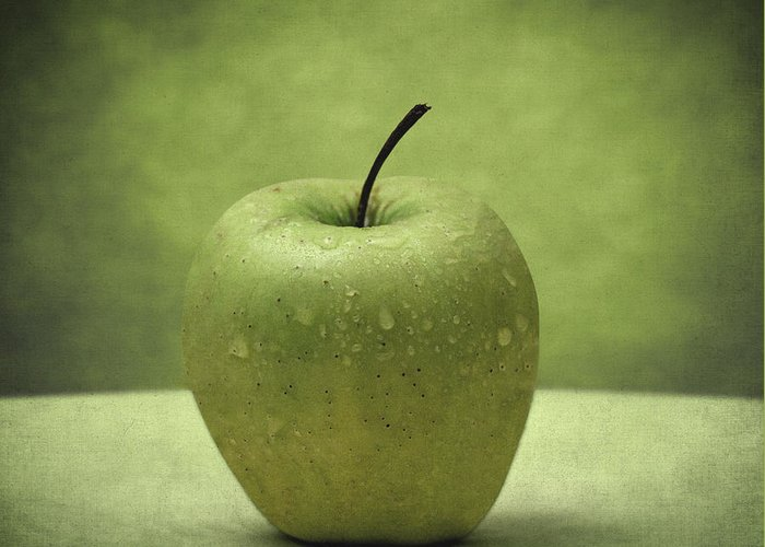 Apples Greeting Card featuring the photograph Forbidden Fruit by Taylan Apukovska