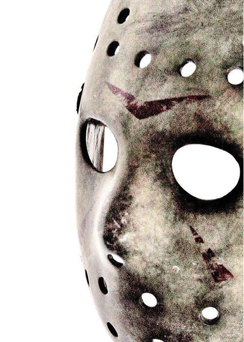 Jason Greeting Card featuring the photograph Friday The 13th by Benjamin Yeager
