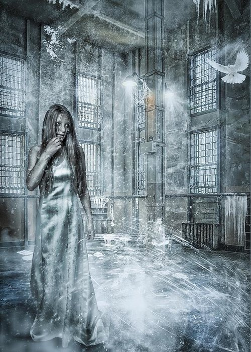 Adult Greeting Card featuring the photograph Frozen Hope by Erik Brede