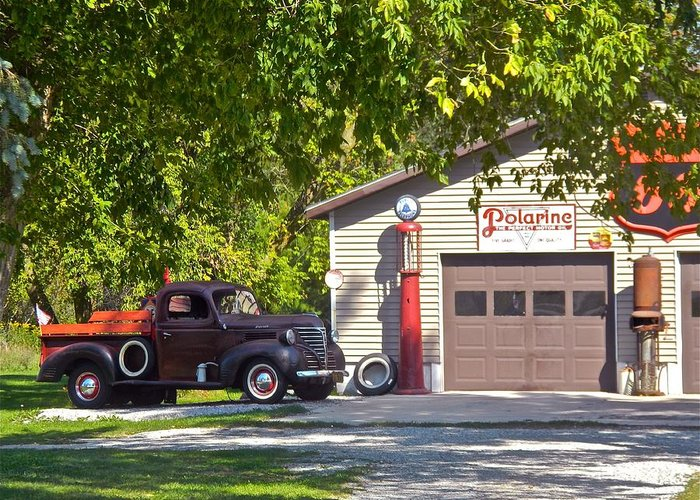 Mechanics Greeting Card featuring the photograph Full Service Please by Randy Rosenberger