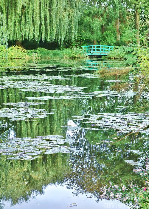 France Greeting Card featuring the photograph Giverny by Olivier Le Queinec