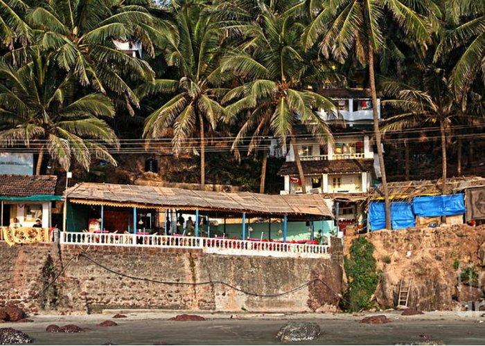 Goa Greeting Card featuring the Goa Beach by Oleksii Vovk