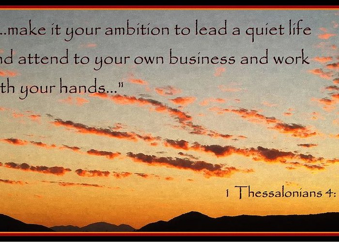 godly Ambition Greeting Card featuring the photograph Godly Ambition by Glenn McCarthy Art and Photography