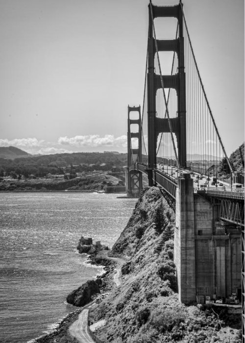Golden Gate Bridge Greeting Card featuring the photograph Going To San Francisco by Heather Applegate
