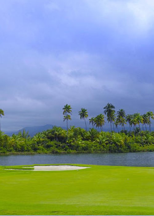 Golf Greeting Card featuring the photograph Golfer's Paradise by Stephen Anderson