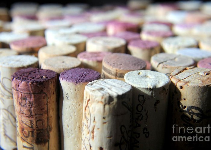 Wine Greeting Card featuring the photograph Good Weekend by Kenny Glotfelty