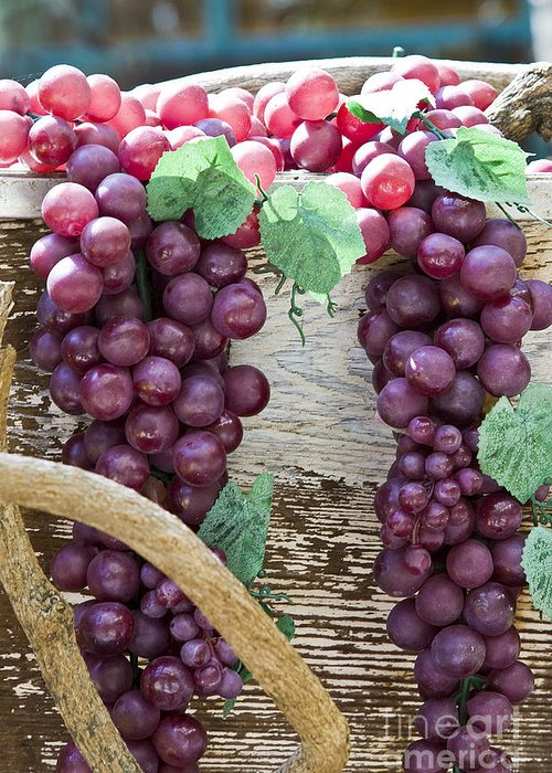 Grapes Greeting Card featuring the photograph Grapes by Tim Hightower