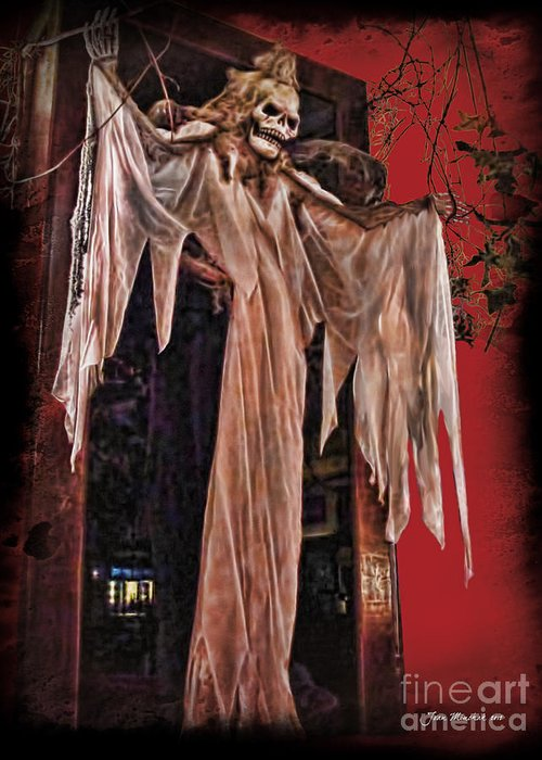 Hauntings Greeting Card featuring the photograph Hauntings by Joan Minchak