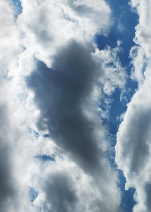 Sky Greeting Card featuring the photograph Heart I by Anna Villarreal Garbis