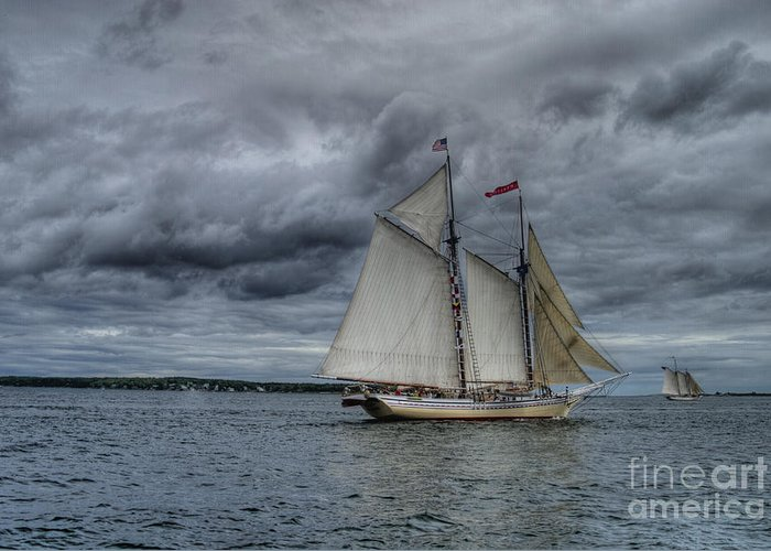 Ship Greeting Card featuring the photograph Heritage by Alana Ranney