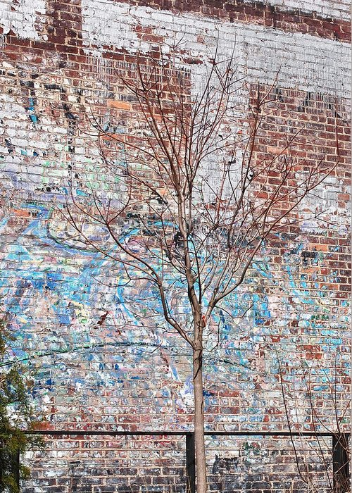 The High Line Greeting Card featuring the photograph High Line Palimpsest by Rona Black