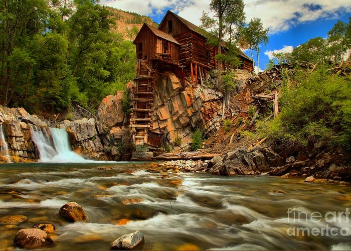 Crystal Colorado Greeting Card featuring the photograph Historic Colorado Landscape by Adam Jewell