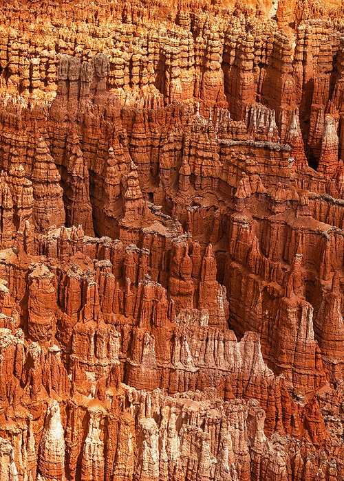 National Park Greeting Card featuring the photograph Hoodoos Of Bryce by Andrew Soundarajan