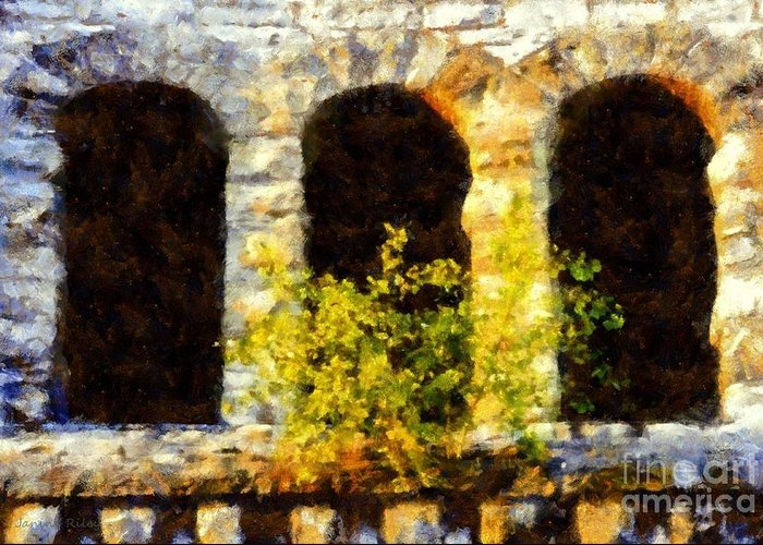 Church Greeting Card featuring the photograph Hope Springs Eternal by Janine Riley