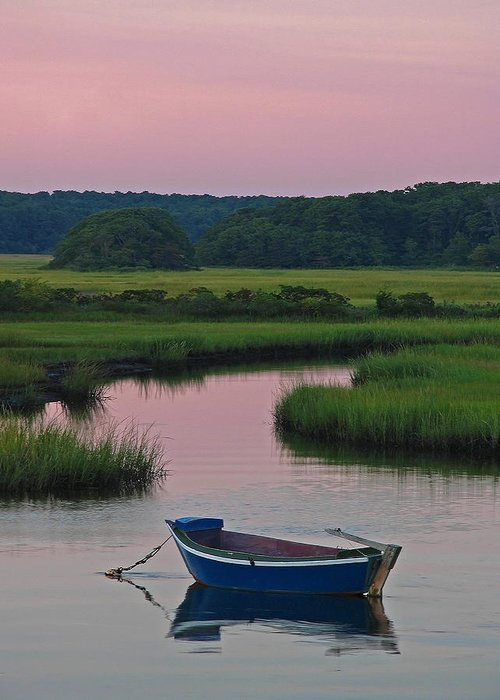 Solitude Greeting Card featuring the photograph Idyllic Cape Cod by Juergen Roth