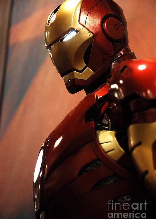 Iron Man Greeting Card featuring the photograph Iron Man by Micah May