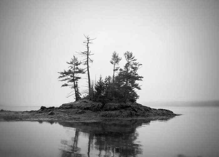 Maine Greeting Card featuring the photograph Island by Patrick Downey