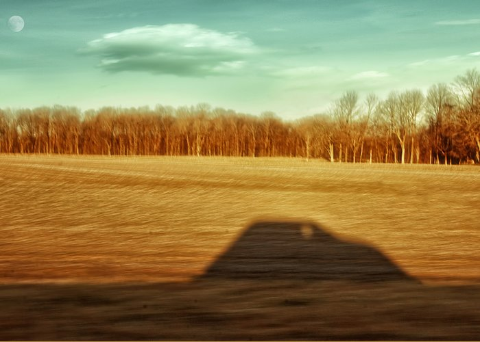 Driving At Sunrise Greeting Card featuring the photograph I've Been Everywhere Man by Steven Michael