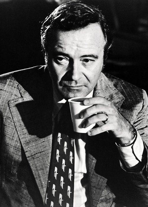 Save The Tiger Greeting Card featuring the photograph Jack Lemmon In Save The Tiger by Silver Screen