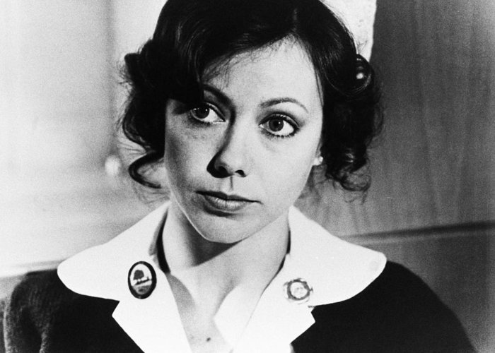 An American Werewolf In London Greeting Card featuring the photograph Jenny Agutter In An American Werewolf In London by Silver Screen