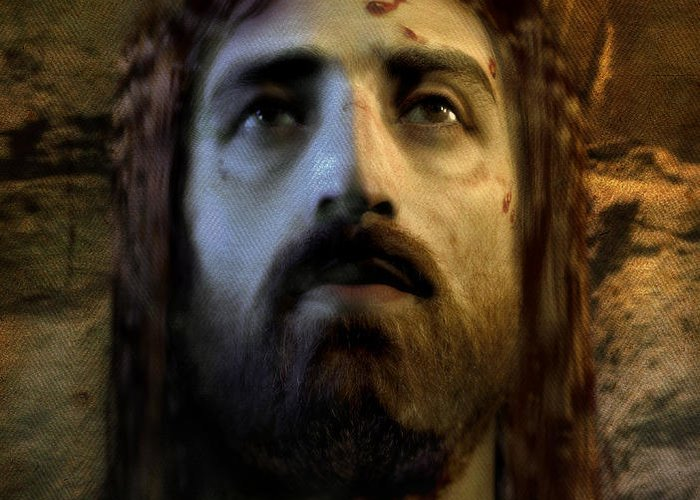 Jesus Greeting Card featuring the digital art Jesus Alive Again by Ray Downing